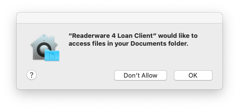 Documents access