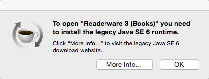 Apple Install Java Dialog