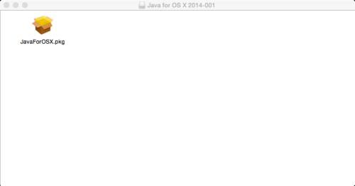 Apple Java Package Installer