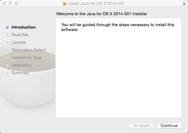 Apple Java Installer