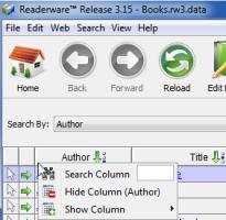 Readerware Jump To