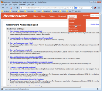 Readerware Knowledge Base