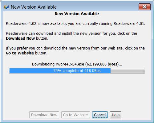 Downloading the upgrade installer