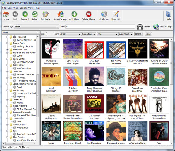Catalog Your Books And Manage Your Library With Excel: Readerware Music Database Details