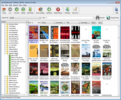 Readerware for Linux 3.54 Screen shot